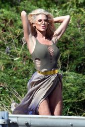 Victoria Silvstedt - Photoshoot in St Barts 01/05/2021