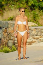 Vogue Williams at the Beach in St. Barts 01/05/2021