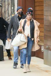 Yolanda Hadid - Out in New York 01/11/2021