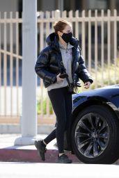 Zoey Deutch Winter Style in LA 01/04/2021