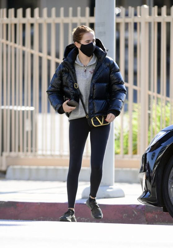 Zoey Deutch Winter Style in LA 01/04/2021