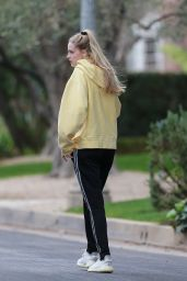 Abby Champion and Patrick Schwarzenegger - Out in Santa Monica 01/31/2021