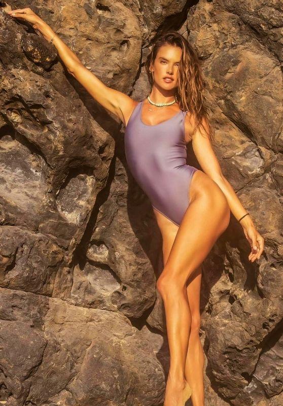 Alessandra Ambrosio - Alo Swimwear Photoshoot in Brazil February 2021