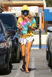 Alessandra Ambrosio Colorful Style - Los Angeles 02/23/2021