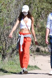 Alessandra Ambrosio - Hiking in Santa Monica 02/24/2021