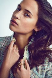 Alicia Vikander - Photoshoot for VS Magazine February/March 2013