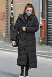 Alison King - Out in Manchester City Centre 02/01/2021