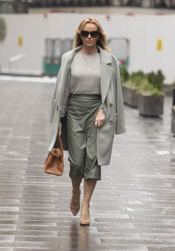 Amanda Holden at Global Radio in London 02/08/2021
