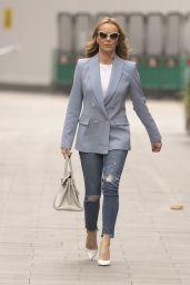 Amanda Holden Street Style - London 02/11/2021