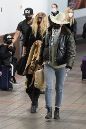 Amber Heard at LAX Airport in Los Angeles 02/20/2021