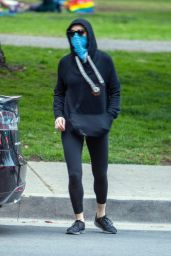 Amber Heard - Griffith Park in LA 01/31/2021