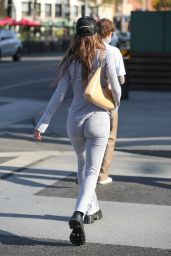 Amelia Hamlin at Croft Alley in Beverly Hills 02/10/2021