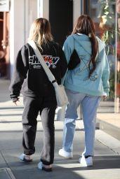Anastasia Karanikolaou and Kelsey Calemine - Croft Alley in Beverly Hills 02/18/2021