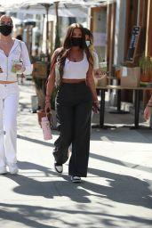Anastasia Karanikolaou at Croft Alley in Beverly Hills 02/24/2021