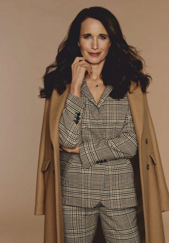 Andie MacDowell - ELLE Magazine Spain March 2021 Issue