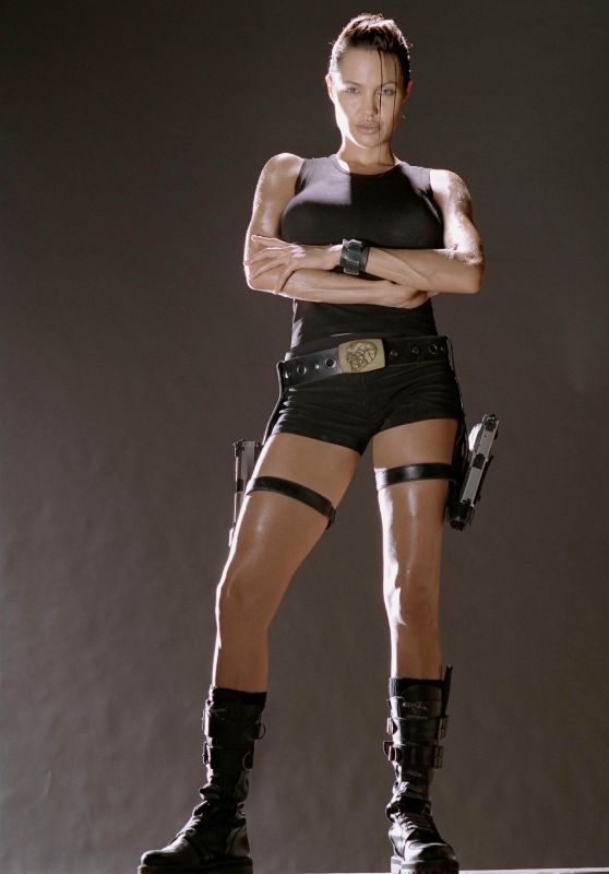 Angelina Jolie - Lara Croft Tomb Raider Promoshoot 2001