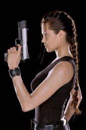 Angelina Jolie - Lara Croft Tomb Raider Promoshoot 2001