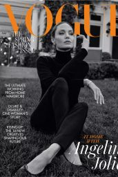 Angelina Jolie - Vogue UK March 2021