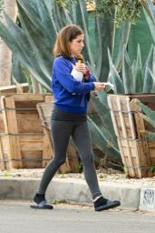 Anna Kendrick in Casual Outfit - Los Angeles 02/11/2021