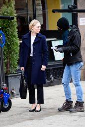 """AnnaSophia Robb - """"Dr. Death"""" Set in NY 02/09/2021"""