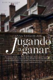 Anya Taylor-Joy - ELLE Magazine Spain March 2021 Issue