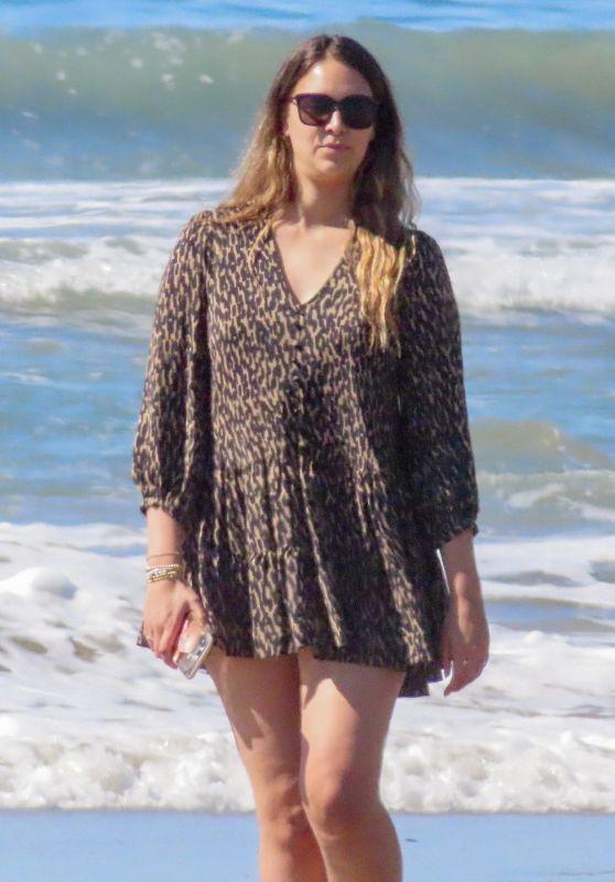 April Love Geary - Beach in Malibu 02/22/2021
