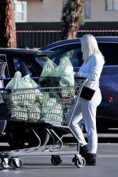 Ariel Winter in a White Jumpsuit - Shopping in LA 02/23/2021
