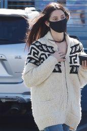 Ashley Greene - Picks Up Sushi in LA 02/17/2021