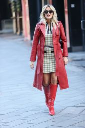 Ashley Roberts in Karen Millen Co-ord and Ego Boots 02/05/2021