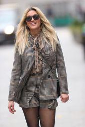 Ashley Roberts - Leaving the Global Radio Studios in London 02/22/2021