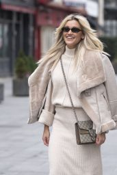 Ashley Roberts Wearing House of CB Co-Ord and Pretty Little Thing Boots 02/04/2021