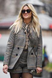 Ashley Roberts Wears Saint and Sofia - London 02/22/2021