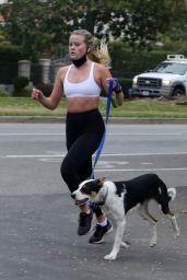 Ava Phillippe - Jogging in Los Angeles 02/09/2021