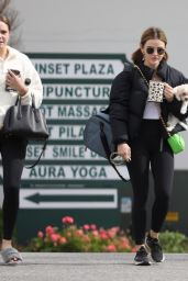 Bailee Madison and Lucy Hale - Leaving Yoga Class in West Hollywood 02/15/2021