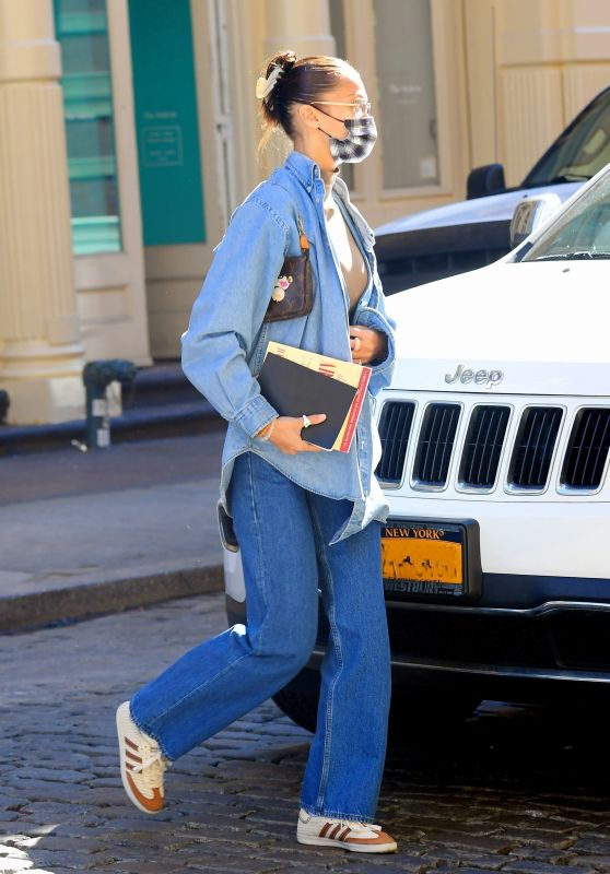 Bella Hadid - Out in New York 02/25/2021