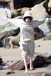 Billie Eilish - Beach in Malibu 02/21/2021