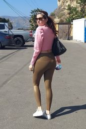Blanca Blanco in Tights - Malibu 02/16/2021