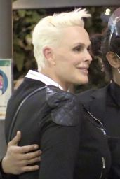 Brigitte Nielsen at Il Pastaio in Beverly Hills 02/22/2021