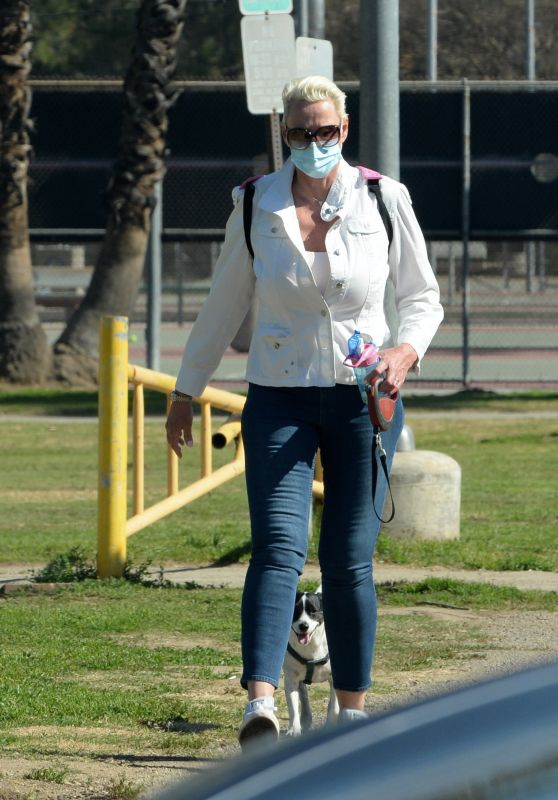 Brigitte Nielsen at the Park in LA 02/07/2021