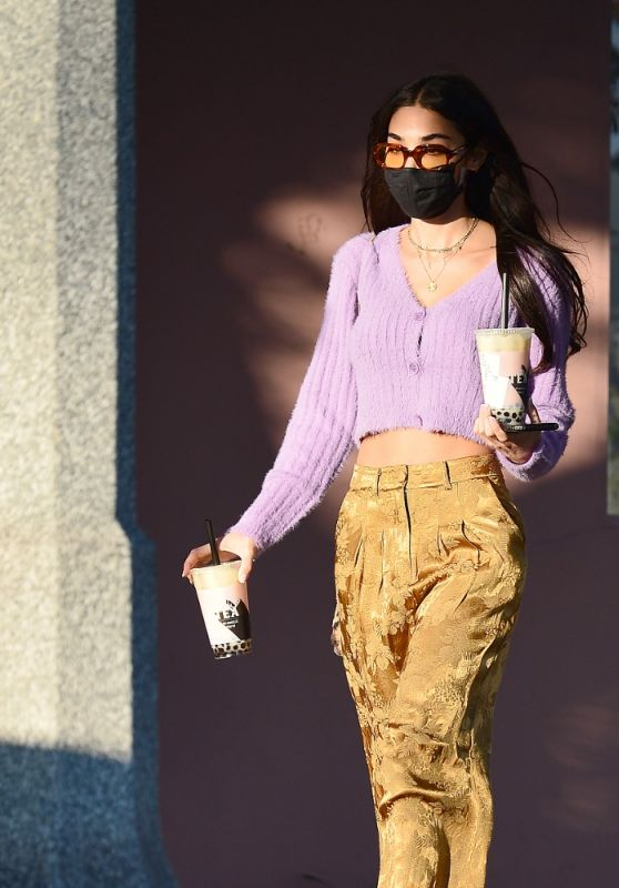 Chantel Jeffries in Casual Outfit 02/04/2021