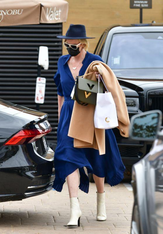 Charlize Theron is Stylish - Nobu in Malibu 01/31/2021