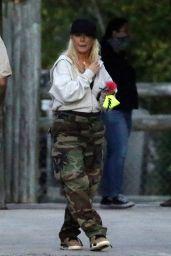 Christina Aguilera - Everglades Alligator Farm in Florida 02/13/2021