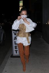 Christine Chiu Night Out Style - Craigs in West Hollywood 02/17/2021