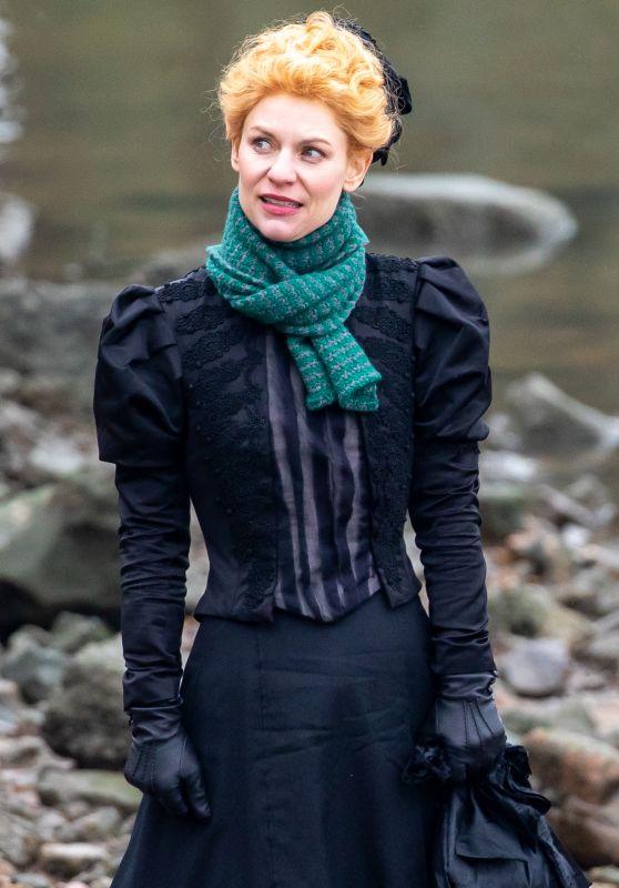 "Claire Danes - ""The Essex Serpent"" Set in London 02/22/2021"