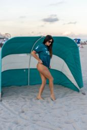 Claudia Romani - Photoshoot in Miami 02/18/2021