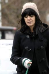 Claudia Winkleman - Out in London 02/19/2021