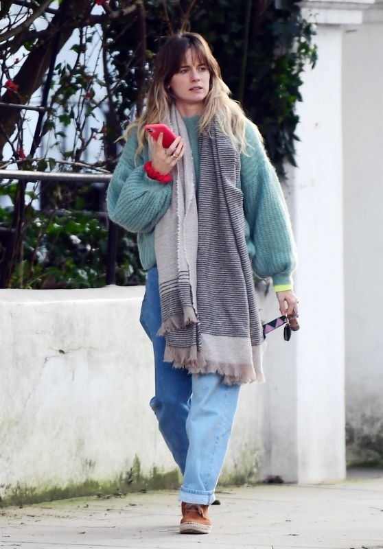 Cressida Bonas - Out in Notting Hill 02/20/2021