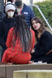 "Daisy Edgar-Jones - ""Fresh"" Filming Set in Vancouver 02/17/2021"