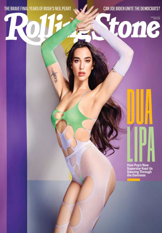 Dua Lipa - Rolling Stone Magazine February 2021 Issue
