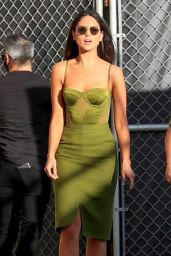 Eiza Gonzalez - Arriving at the Jimmy Kimmel Live Studios in Los Angeles 02/16/2021